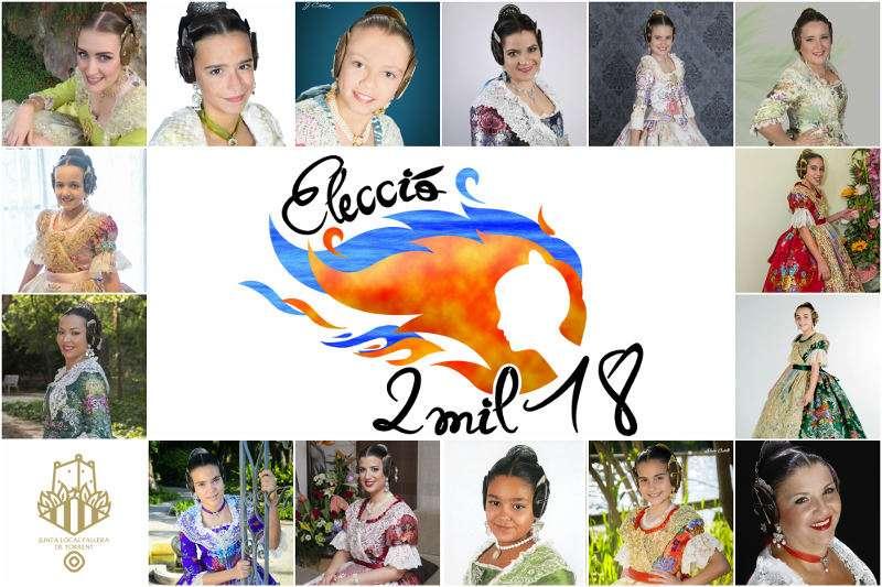 Candidates a Falleres Majors de Torrent 2018. EPDA