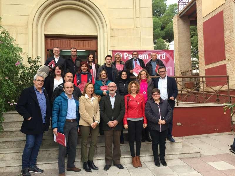 Miembros del consejo de Pactem Nord. EPDA