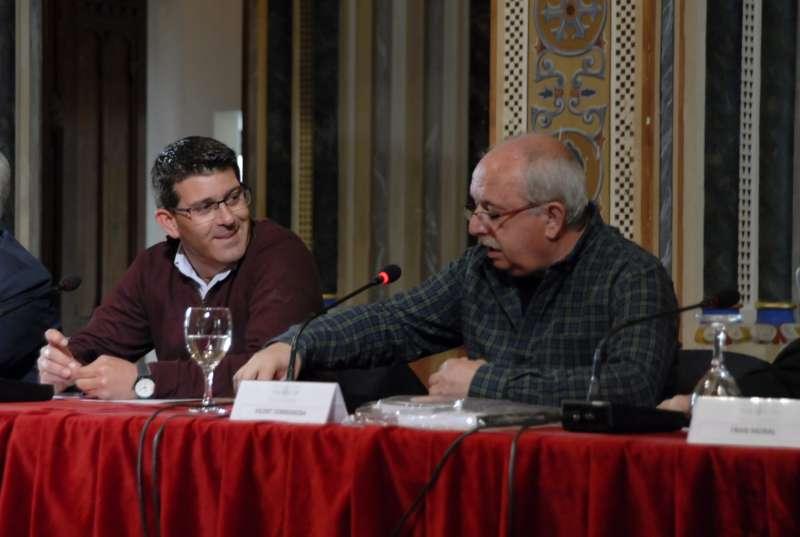 El presidente de la Diputación durante la presentación