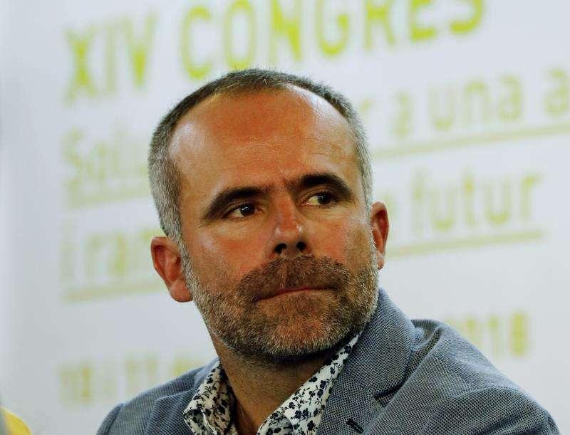El nuevo secretario general de La Unió de Llauradors i Ramaders, Carles Peris. EFE