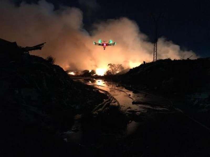 Incendio en Sollana