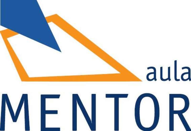 Logotipo de Aula Mentor. EPDA