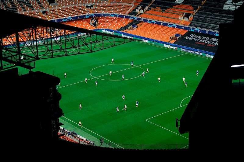 Imagen del estadio de Mestalla. EFE/Archivo