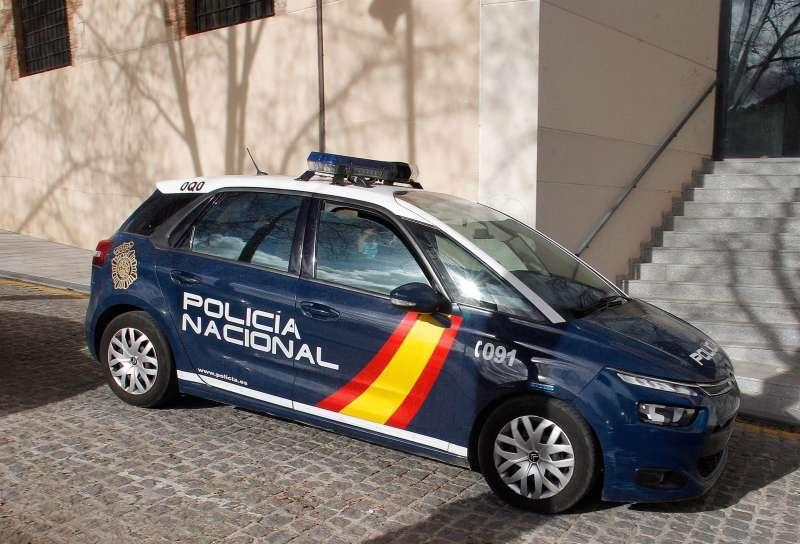 Un coche de la Policía Nacional.EFE/ Morell/Archivo