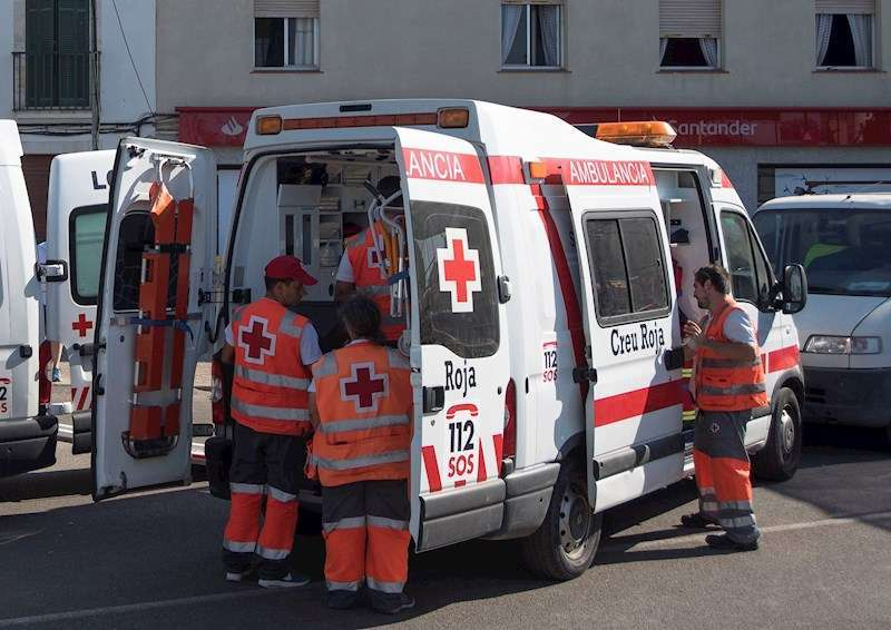 Ambulancia de Cruz Roja. Archivo/EPDA