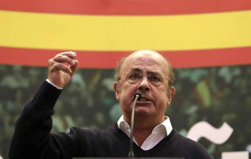 El cabeza de lista al Congreso por Valencia de Vox, Ignacio Gil Lázaro, en una imagen reciente.-  EFE