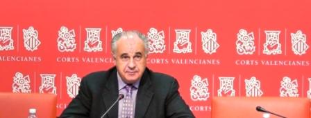 El portavoz popular en Les Corts, Rafael Blasco. Foto ppcv.com