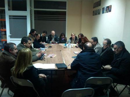 A la reunión acudieron un numeroso grupo de portavoces. Foto: EPDA.