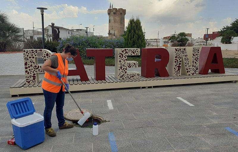 Desinfección en Paterna. EPDA