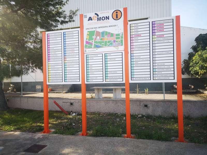Directori dels polígons industrials de Moncada