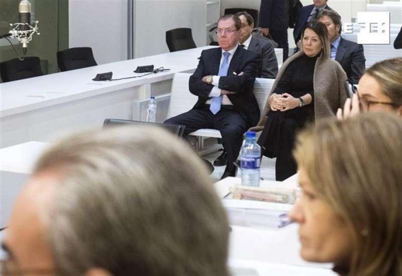 Domingo Parra durante el juicio ante la Audiencia Nacional. EFE/Luca Piergiovanni POOL/Archivo