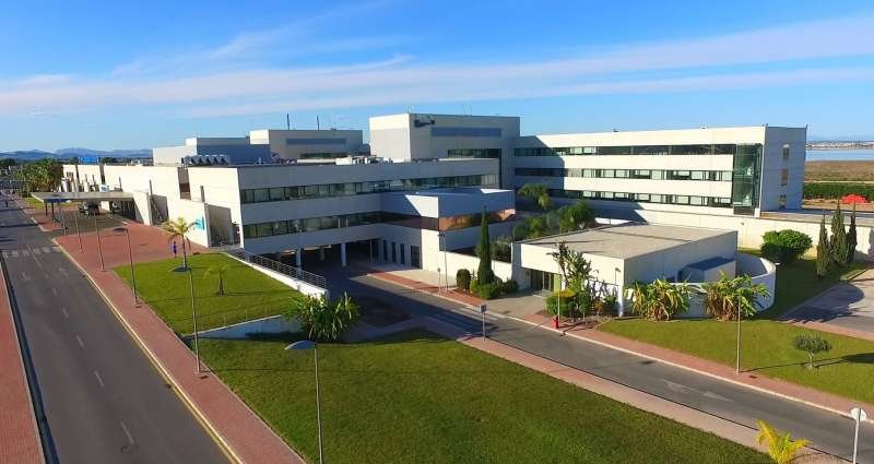 Hospital Torrevieja Salud./PDA