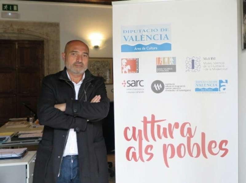 El diputado de Cultura de la Diputación de Valencia, Xavier Rius. FOTO DIVAL