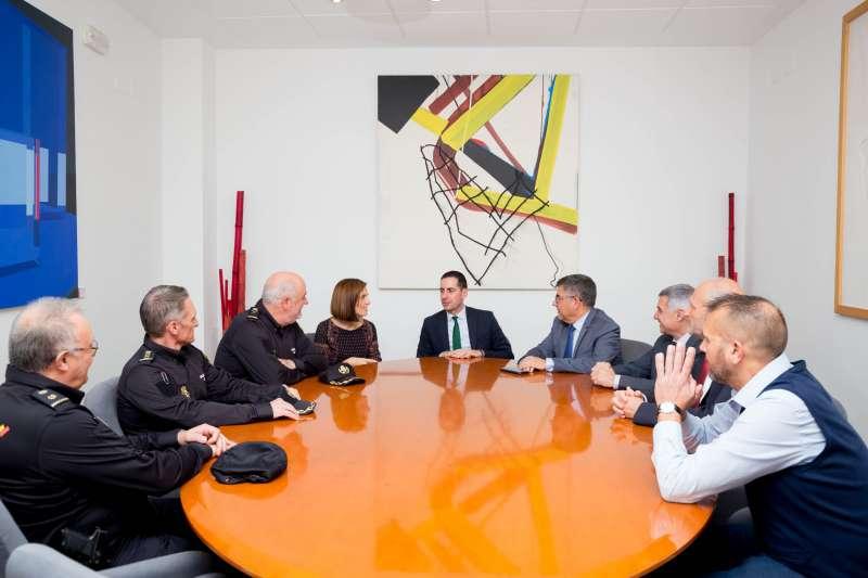 Reunión en la Casa Consistorial de Mislata. EPDA