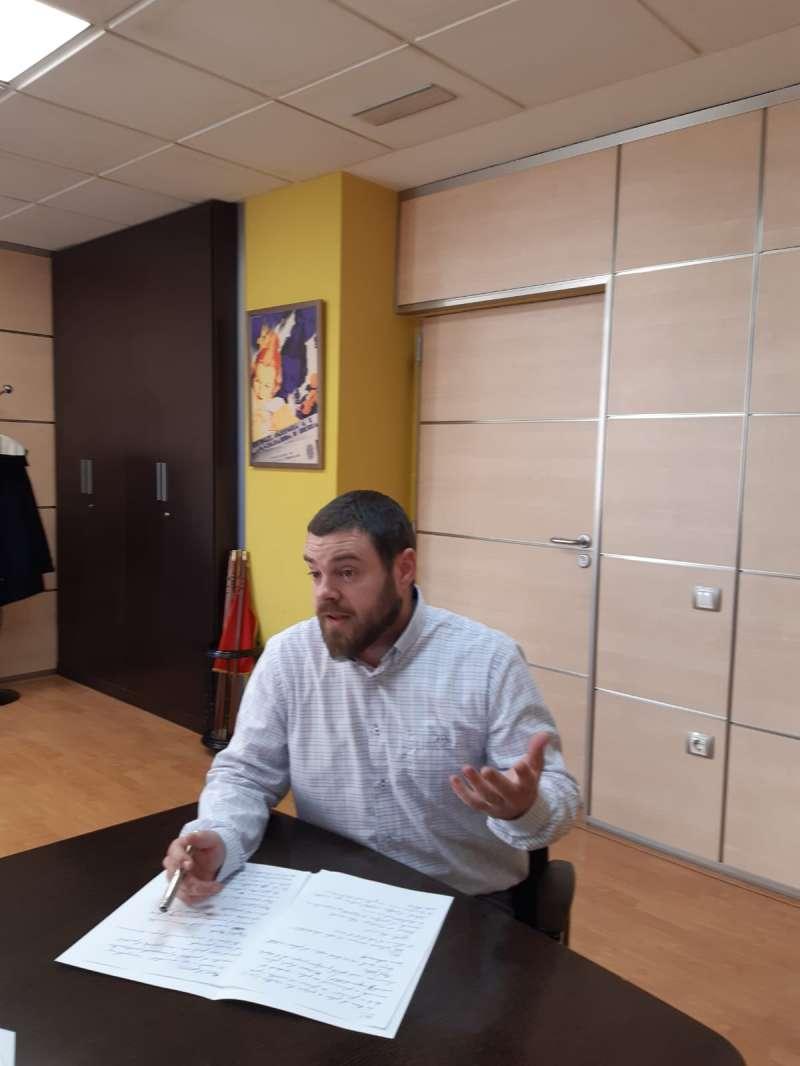 Enric Palanca, alcalde de La Pobla de Farnals. EPDA