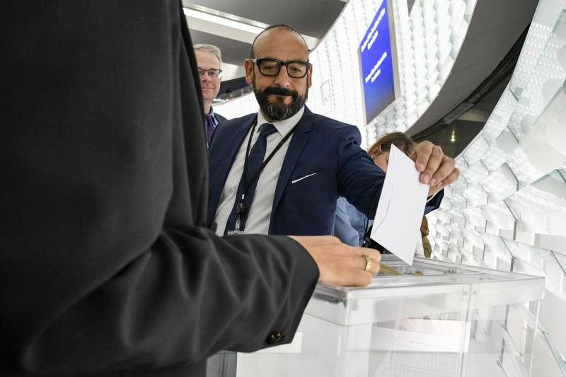 El eurodiputado Jordi Cañas de Ciudadanos. -EPDA