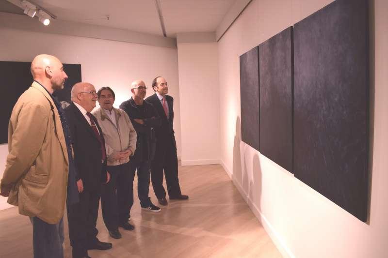 De izquierda a derecha; Ricard Silvestre, Domingo Quesada, Manuel Muñoz, Miguel Borrego y Borja Monzó. FOTO ECI