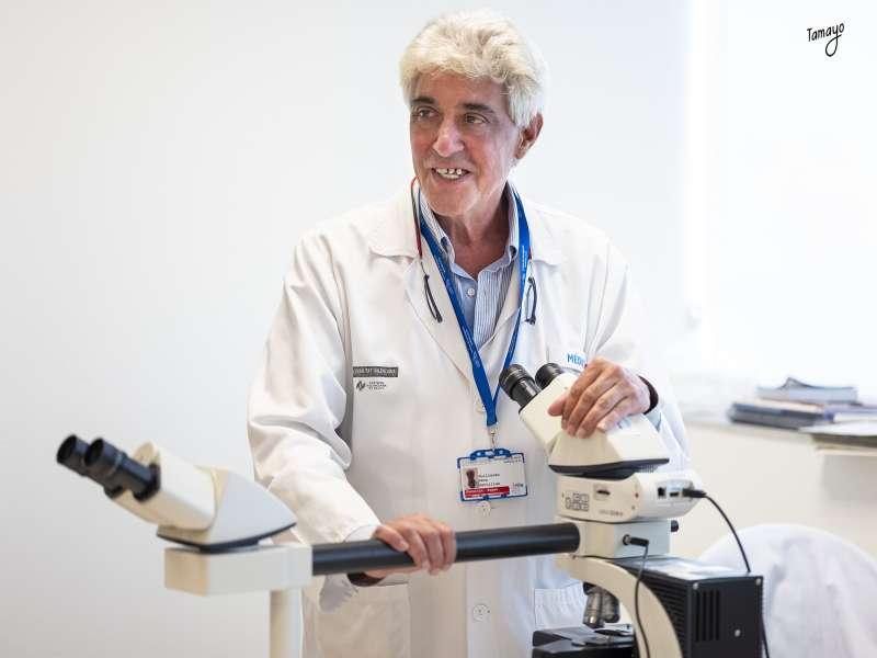 El jefe de servicio de Hematología de La Fe, Guillermo Sanz. Vicente Rupérez