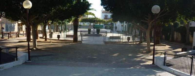Imagen de la plaza Félix Rodríguez de la Fuente. EPDA