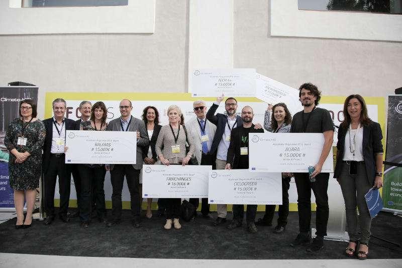Finalistas del programa europeo Climate-KIC Accelerator. EPDA