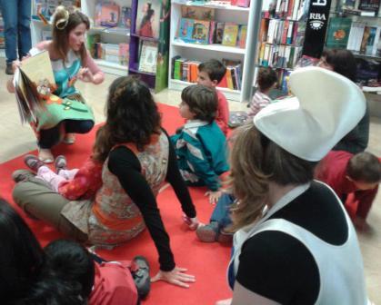 Una de las actividades de animación infantil. FOTO: EPDA