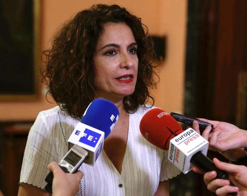 La ministra de Hacienda en funciones, María Jesús Montero. EFE/Archivo