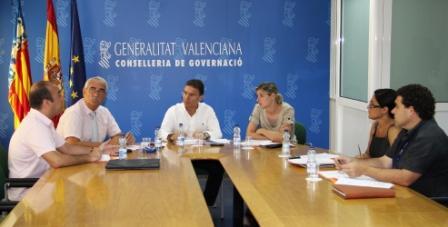 La Generalitat estudia el nuevo Plan Territorial de Emergencias de la Comunitat. Foto EPDA