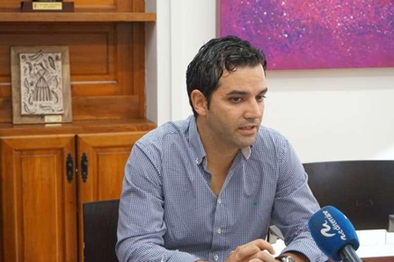 Juan Antonio Sagredo, alcalde de Paterna. EPDA