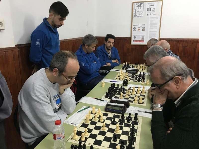 Partida de ajedrez. EPDA