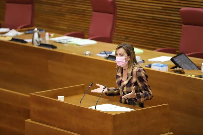 La diputada María Quiles.
