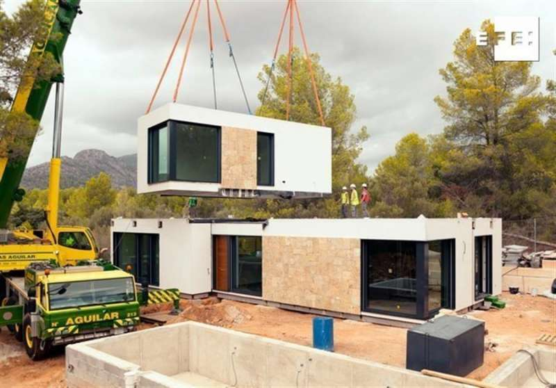 Casa en construcción. EPDA