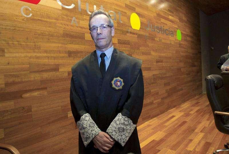 El presidente de la Audiencia Provincial de Castellón, Manuel Marco Cos. EFE/Archivo