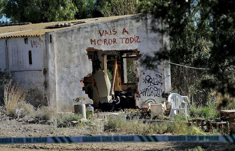 Vivienda de Godella (Valencia) donde fallecieron los dos menores . EFE