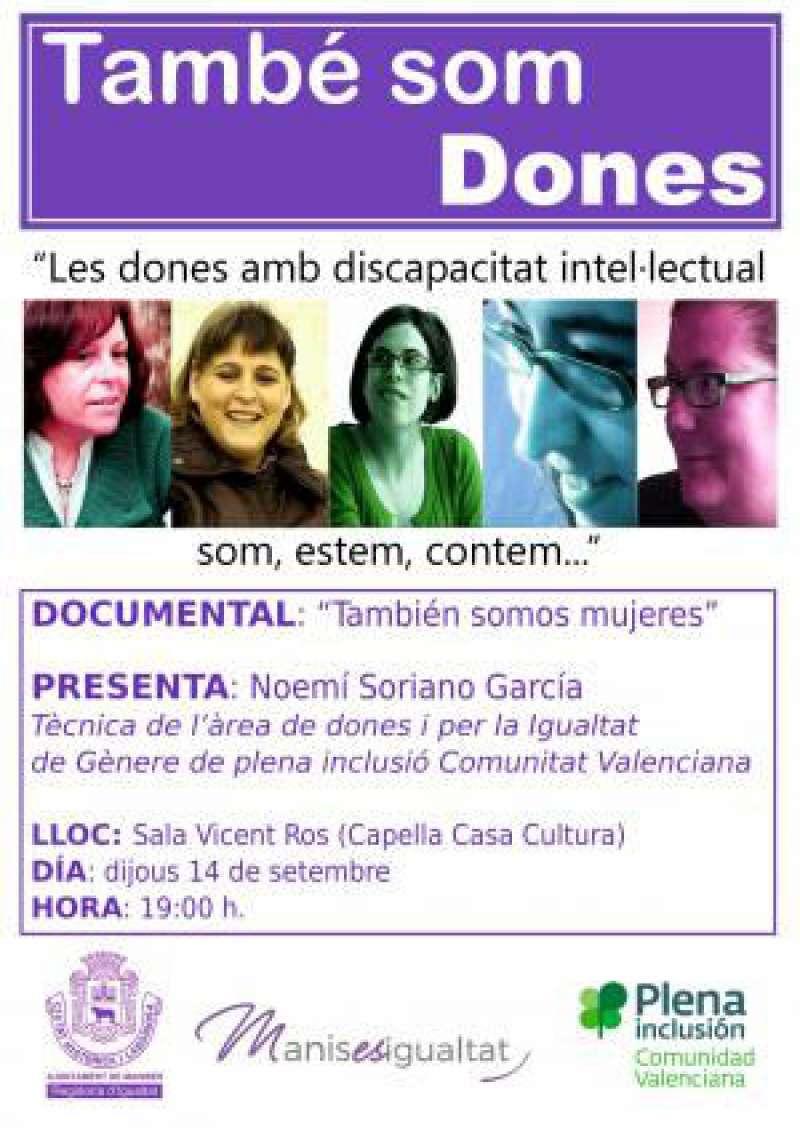 Cartell del documental. EPDA