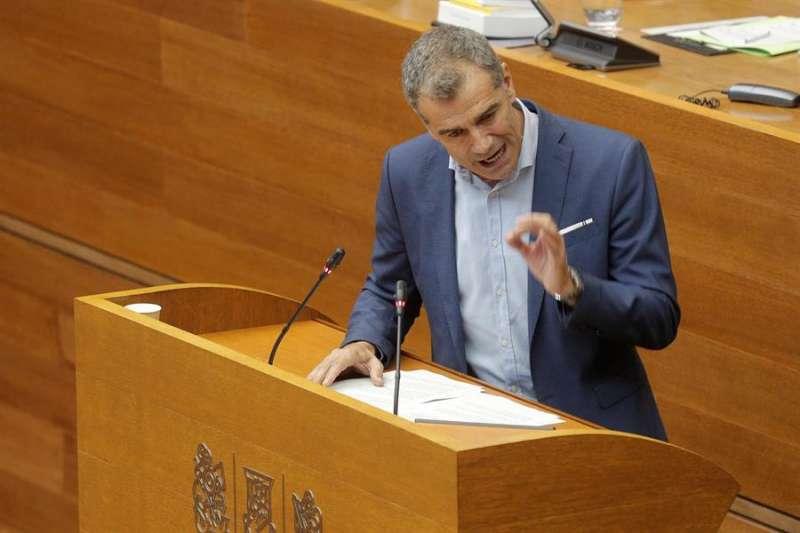 El portavoz de Ciudadanos en Les Corts, Toni Cantó. EFE/Kai Försterling