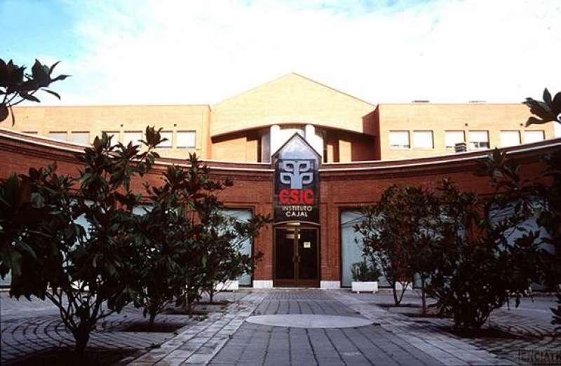 ?  Entrada principal del Instituto Cajal, del CSIC, en Madrid. / CSIC