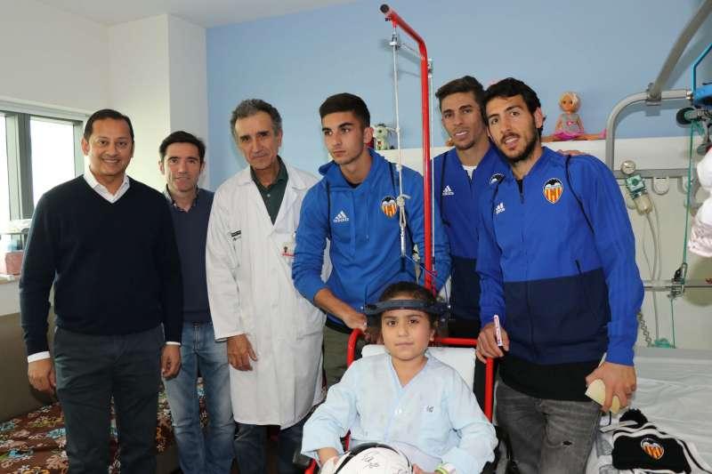 Visita del Valencia CF a la Fé. EPDA