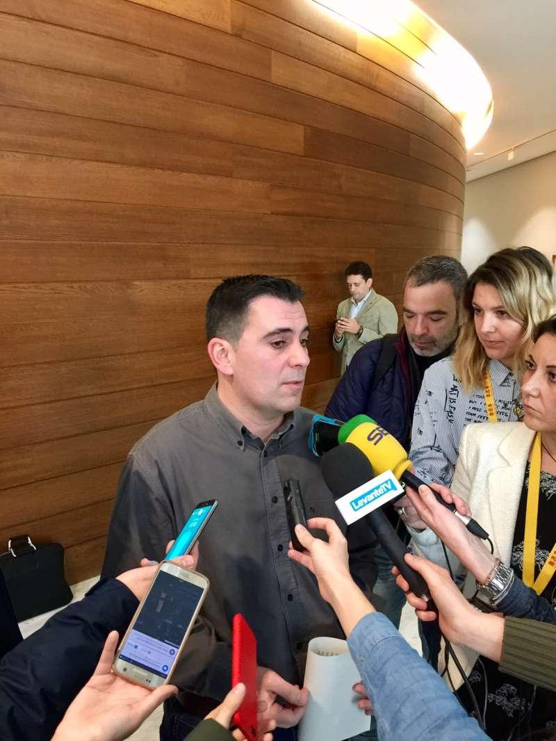 Toni Subiela, diputado de Ciudadanos.  FOTO EPDA