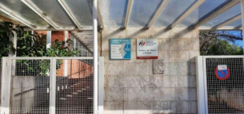 Entrada del Centro de Salud. / EPDA