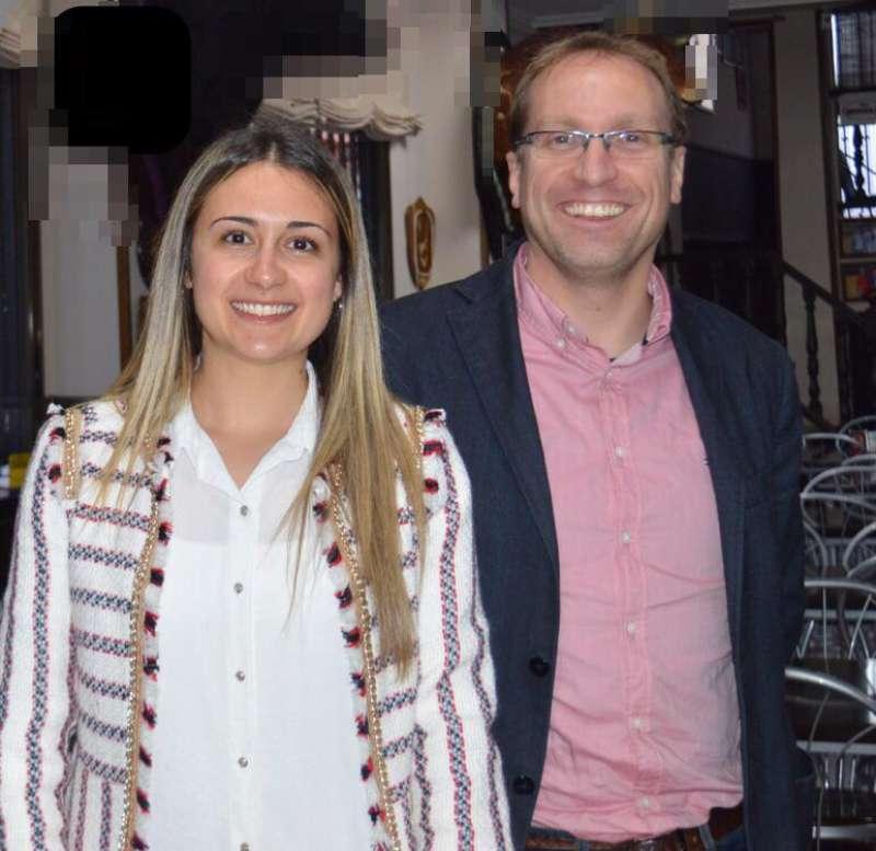 Ernest Blanch y Tania Baños. EPDA