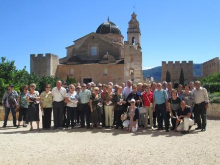 Visita al Monasterio de la Valldigna. FOTO: EPDA