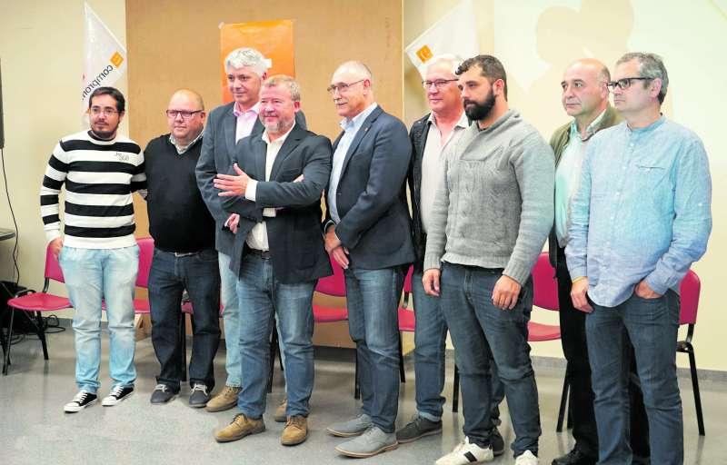 Candidats de Compromís de la comarca. EPDA