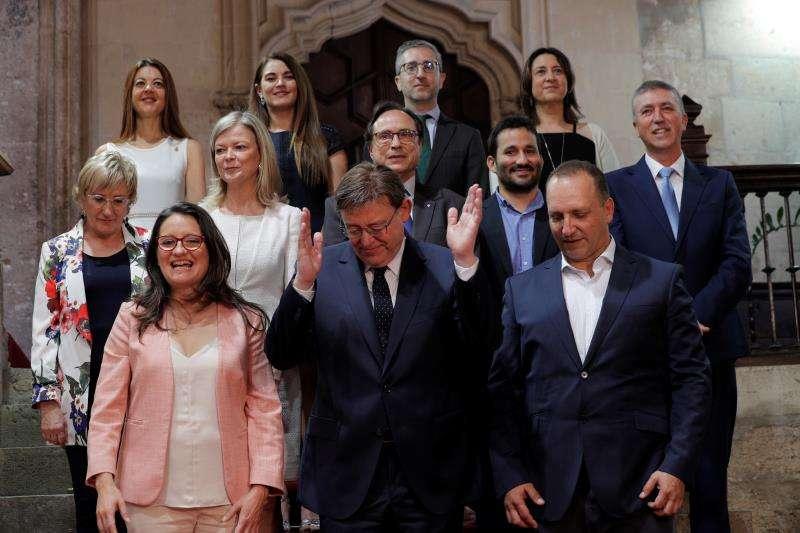 Los miembros del nuevo Consell