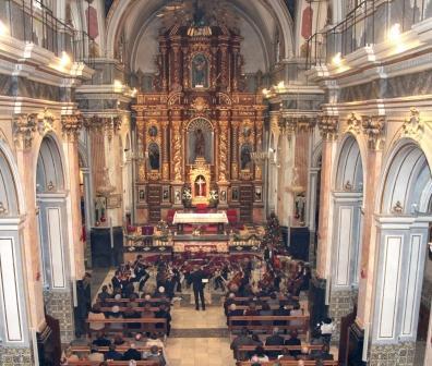 Imagen de conciertos navideños ofrecidos por la Sociedad Musical de Manises. EPDA