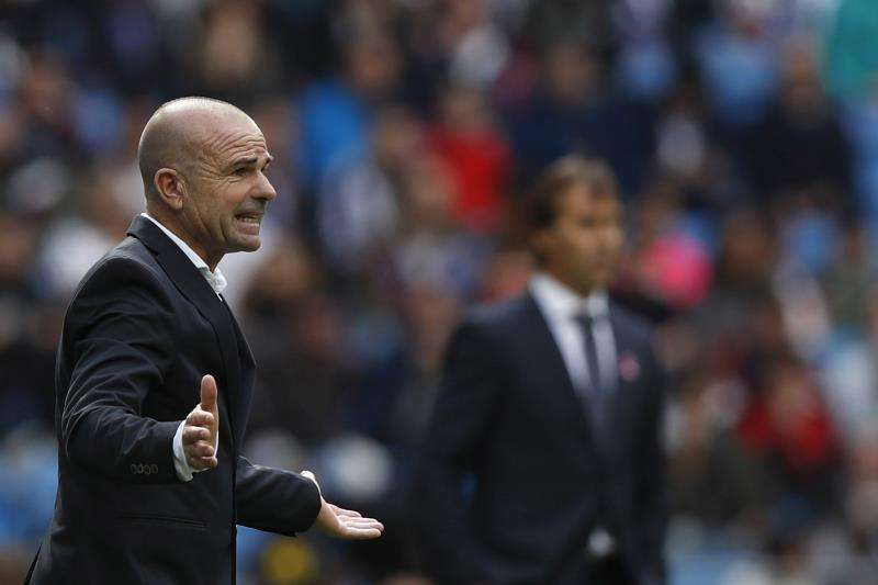 Paco López, entrenador del Levante. FOTO EFE