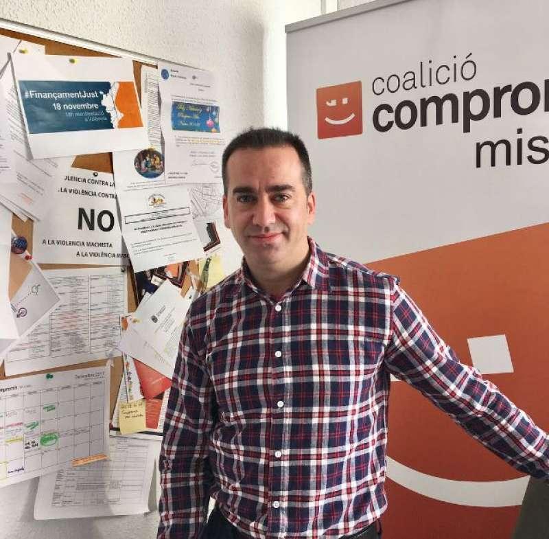 Javier Gil, regidor i portaveu de Compromís per Mislata. EPDA