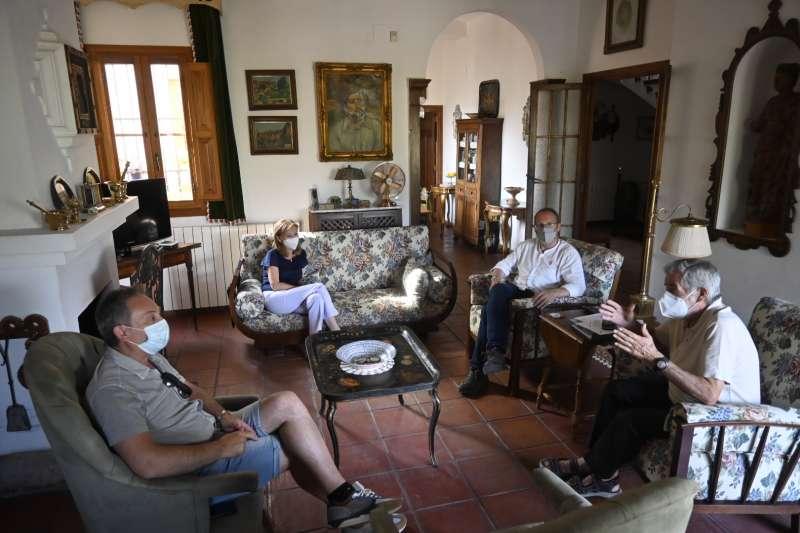El PSPV-PSOE de la provincia de Castelló se reúne con el grupo municipal de Algimia de Almonacid. EPDA