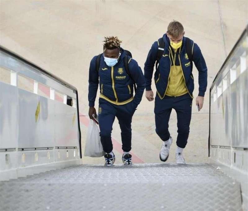 Jugadores del Villareal / EFE