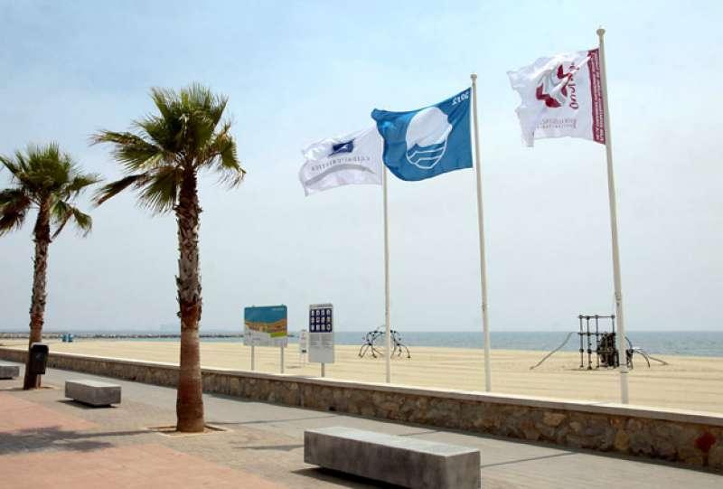 Imagen de archivo de la playa de Puçol. EPDA