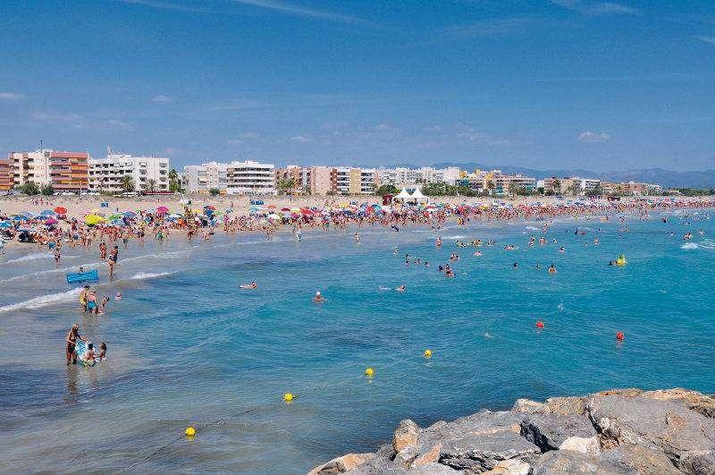 La playa Racó de Mar de Canet d